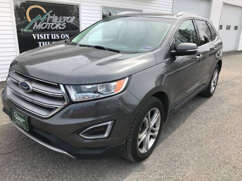2016 Ford Edge for sale at HILLTOP MOTORS INC in Caribou ME