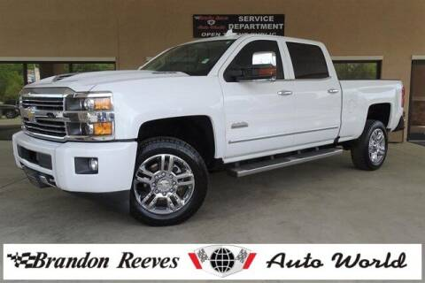2017 Chevrolet Silverado 2500HD for sale at Brandon Reeves Auto World in Monroe NC