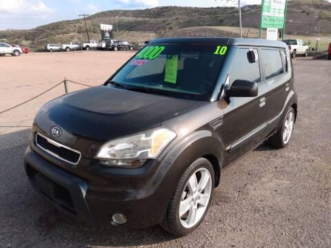 2010 Kia Soul for sale at Hilltop Motors in Globe AZ