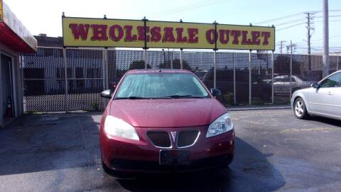 2008 Pontiac G6 for sale at LONG BROTHERS CAR COMPANY in Cleveland OH