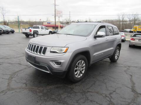 2016 Jeep Grand Cherokee for sale at Riverside Motor Company in Fenton MO