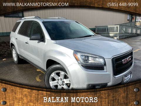 2013 GMC Acadia for sale at BALKAN MOTORS in East Rochester NY