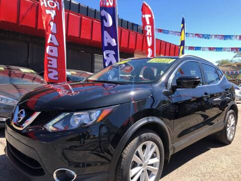 2017 Nissan Rogue Sport for sale at Duke City Auto LLC in Gallup NM