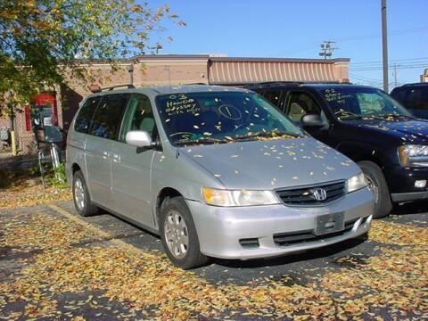 2003 Honda Odyssey for sale at VOA Auto Sales in Pontiac MI