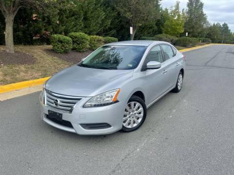2013 Nissan Sentra for sale at Aren Auto Group in Sterling VA