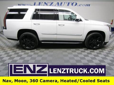 2019 Cadillac Escalade for sale at LENZ TRUCK CENTER in Fond Du Lac WI