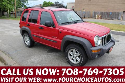 2004 Jeep Liberty for sale at Your Choice Autos in Posen IL