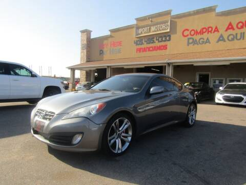 2010 Hyundai Genesis Coupe for sale at Import Motors in Bethany OK