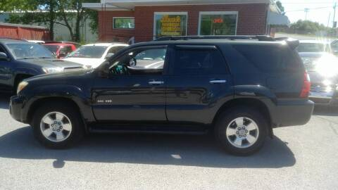 2007 Toyota 4Runner for sale at Lewis Used Cars in Elizabethton TN