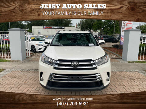 2017 Toyota Highlander for sale at JEISY AUTO SALES in Orlando FL