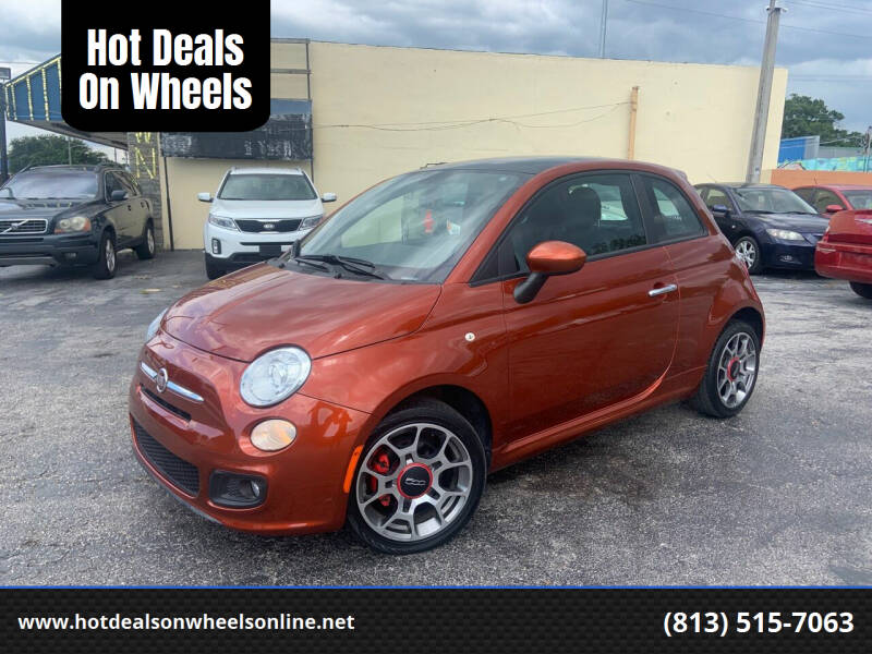 2013 FIAT 500 for sale at Hot Deals On Wheels in Tampa FL
