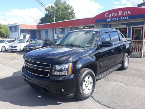 2011 Chevrolet Avalanche for sale at Cars R Us in Binghamton NY