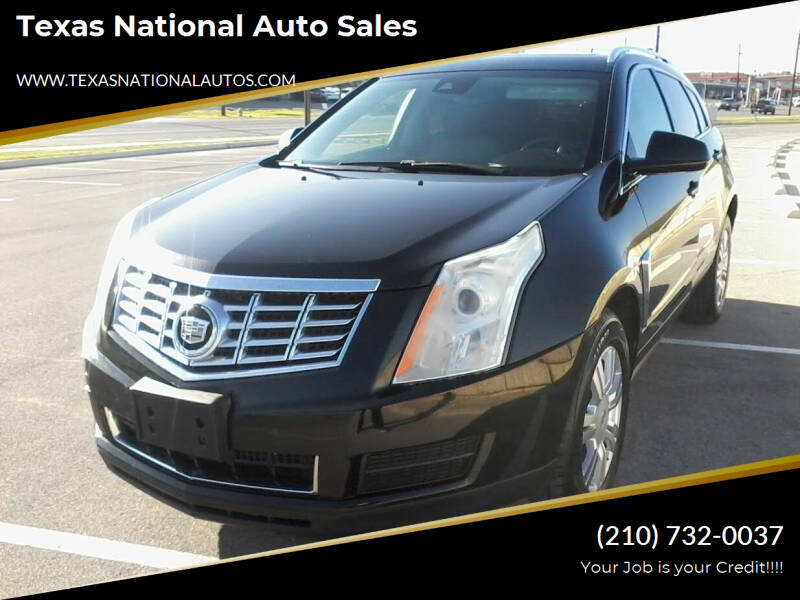 2013 Cadillac SRX for sale at Texas National Auto Sales in San Antonio TX