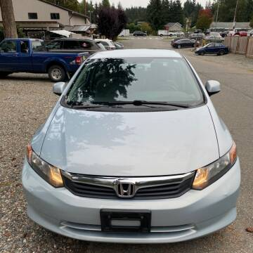 2012 Honda Civic for sale at Road Star Auto Sales in Puyallup WA