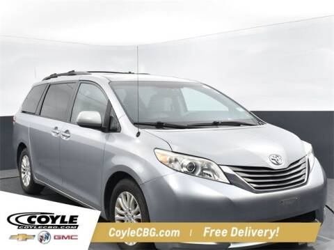 2011 Toyota Sienna for sale at COYLE GM - COYLE NISSAN - New Inventory in Clarksville IN