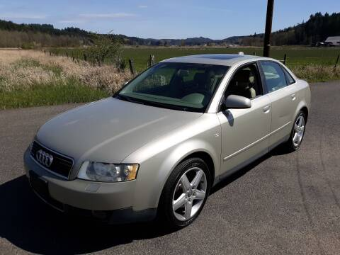 2004 Audi A4 for sale at State Street Auto Sales in Centralia WA