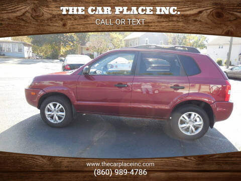 2009 Hyundai Tucson for sale at THE CAR PLACE INC. in Somersville CT
