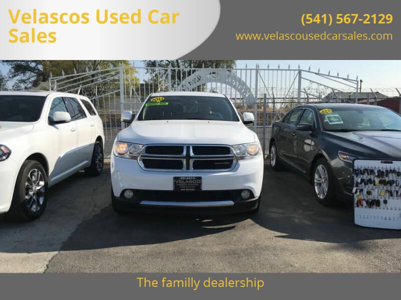 2013 Dodge Durango for sale at Velascos Used Car Sales in Hermiston OR