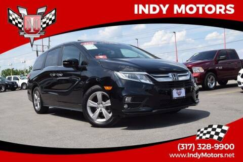 2018 Honda Odyssey for sale at Indy Motors Inc in Indianapolis IN