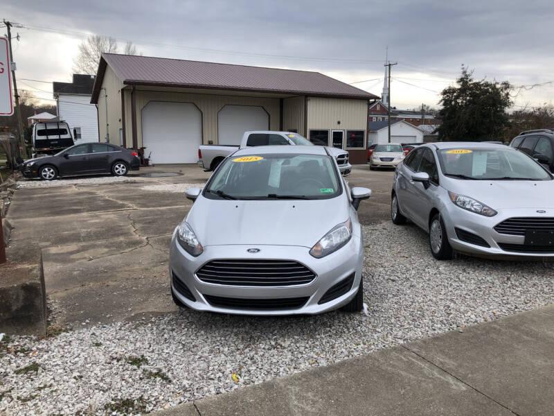 2015 Ford Fiesta for sale at ADKINS PRE OWNED CARS LLC in Kenova WV