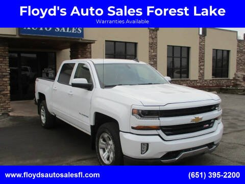 2018 Chevrolet Silverado 1500 for sale at Floyd's Auto Sales Forest Lake in Forest Lake MN