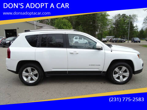 2017 Jeep Compass for sale at DON'S ADOPT A CAR in Cadillac MI