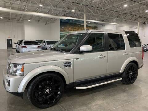 2015 Land Rover LR4 for sale at Godspeed Motors in Charlotte NC