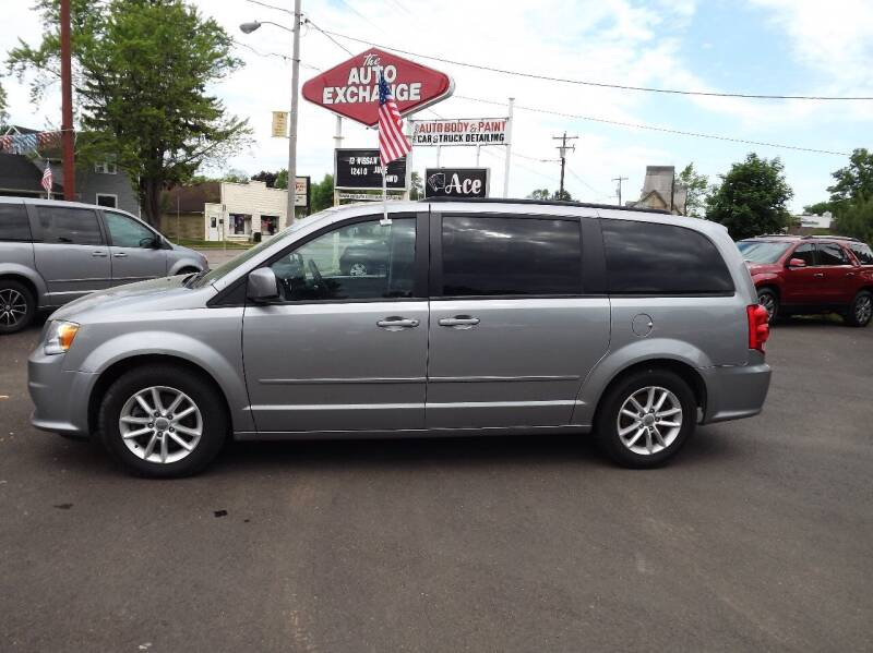 2016 Dodge Grand Caravan for sale at The Auto Exchange in Stevens Point WI