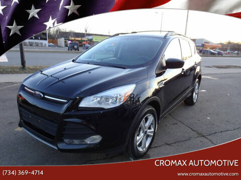 2013 Ford Escape for sale at Cromax Automotive in Ann Arbor MI