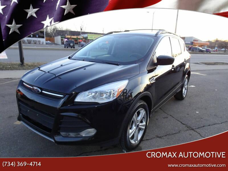 2013 Ford Escape for sale at Cromax Automotive in Ann Arbor MI