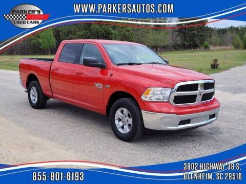 2019 RAM Ram Pickup 1500 Classic for sale at Parker's Used Cars in Blenheim SC