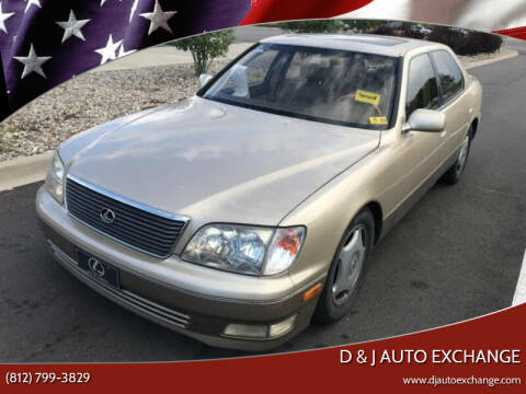 2000 Lexus LS 400 for sale at D & J AUTO EXCHANGE in Columbus IN