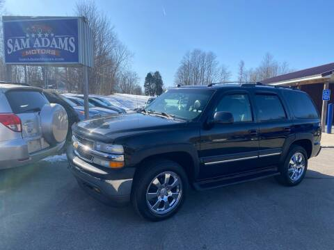 2005 Chevrolet Tahoe for sale at Sam Adams Motors in Cedar Springs MI