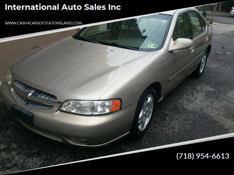 2000 Nissan Altima for sale at International Auto Sales Inc in Staten Island NY