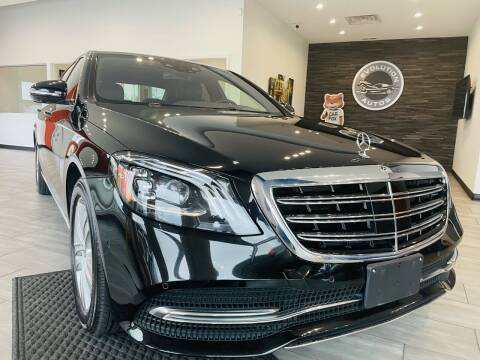 2019 Mercedes-Benz S-Class for sale at Evolution Autos in Whiteland IN