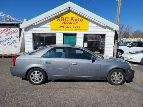 2005 Cadillac CTS for sale at ABC AUTO CLINIC - Chubbuck in Chubbuck ID