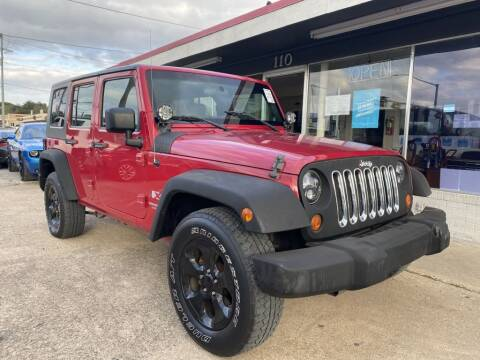 2007 Jeep Wrangler Unlimited for sale at Pary's Auto Sales in Garland TX