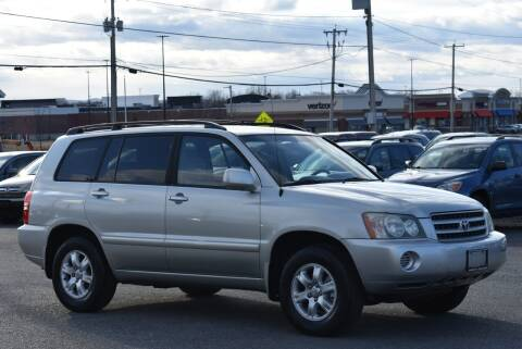 2003 Toyota Highlander for sale at Broadway Garage of Columbia County Inc. in Hudson NY