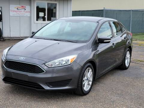 2015 Ford Focus for sale at Transmart Autos in Zimmerman MN