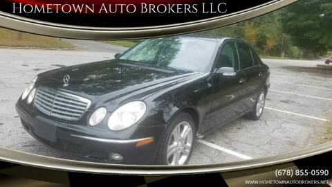 2006 Mercedes-Benz E-Class for sale at Hometown Auto Brokers LLC in Marietta GA