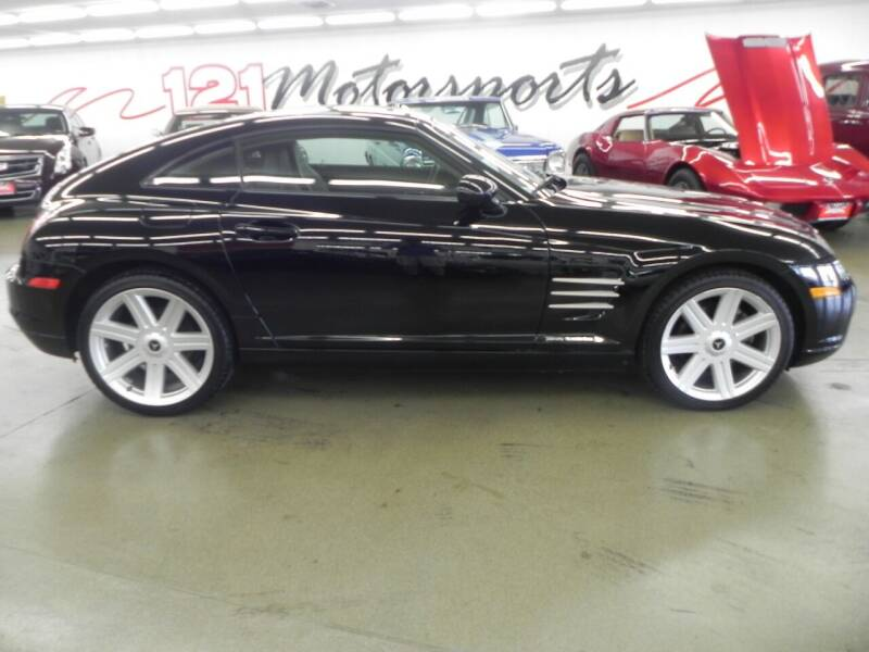 2007 Chrysler Crossfire for sale at 121 Motorsports in Mt. Zion IL