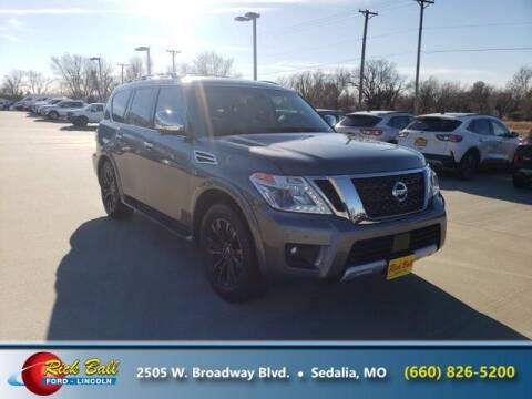 2017 Nissan Armada for sale at RICK BALL FORD in Sedalia MO