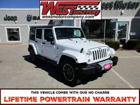 2015 Jeep Wrangler Unlimited for sale at West Motor Company in Hyde Park UT
