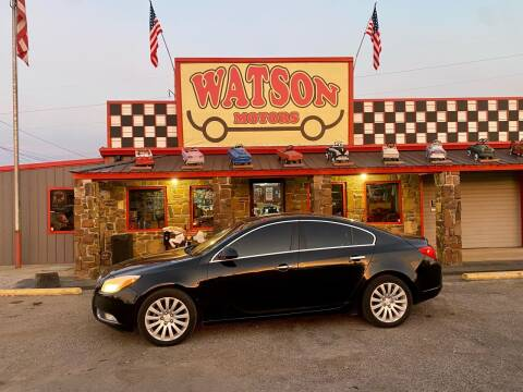 2012 Buick Regal for sale at Watson Motors in Poteau OK