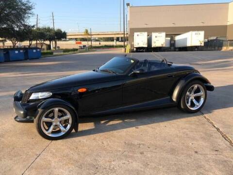 2000 Plymouth Prowler for sale at Premium Auto Group in Humble TX