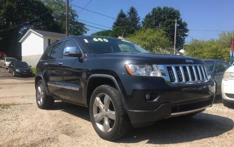 2012 Jeep Grand Cherokee for sale at GREENLIGHT AUTO SALES in Akron OH