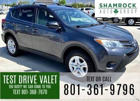 2015 Toyota RAV4 for sale at Shamrock Group LLC #1 in Pleasant Grove UT
