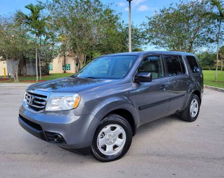 2013 Honda Pilot for sale at FIRST FLORIDA MOTOR SPORTS in Pompano Beach FL
