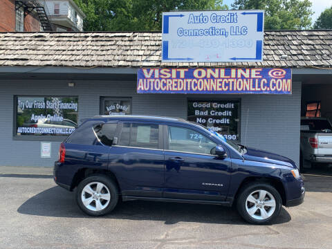 2014 Jeep Compass for sale at Auto Credit Connection LLC in Uniontown PA