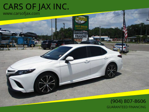 2018 Toyota Camry for sale at CARS OF JAX INC. in Jacksonville FL
